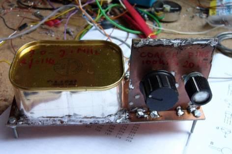 Bi-polaire Transistor 40m VFO