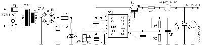 Schema van de voeding