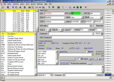 Entry scherm