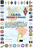 Nieuw IARU Regio 2 award