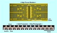 10,7 Watt bij 25 GHz uit 1 transistor
