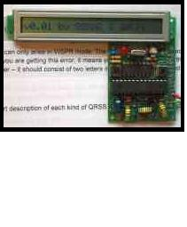 QRSS/WSPR kit van G0UPL