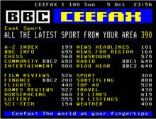 BBC trekt stekker uit Ceefax