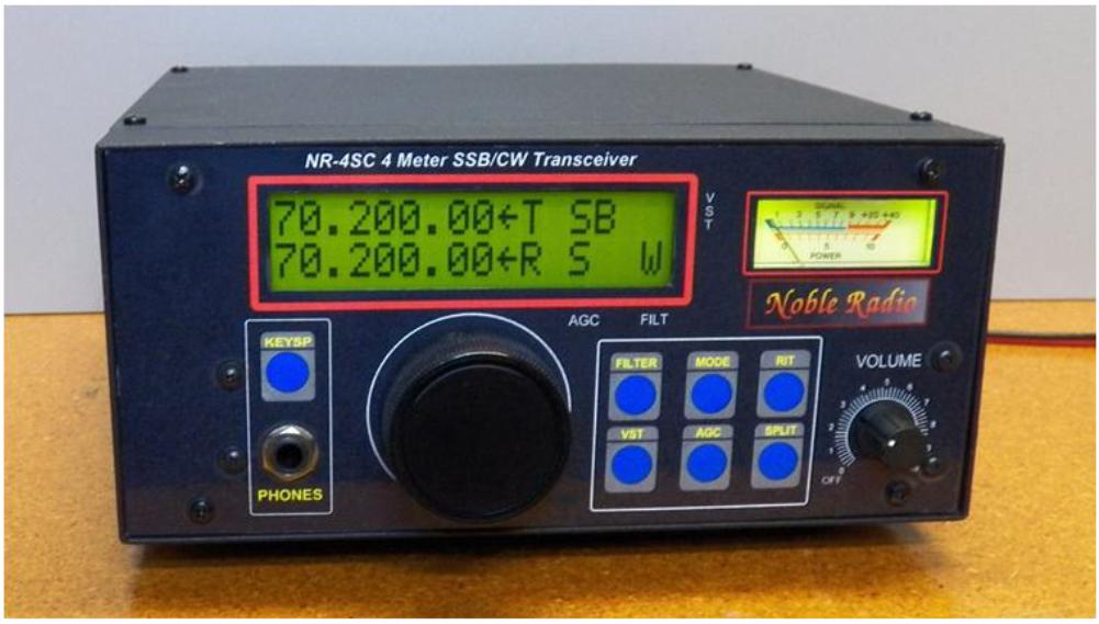 NobleRadio 4m transceiver