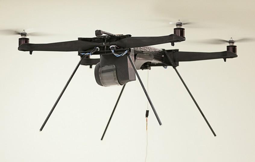 Onderzoek naar drone verbindingen