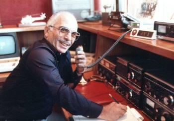 Radiogeschiedenis: Koning Hussein JY1