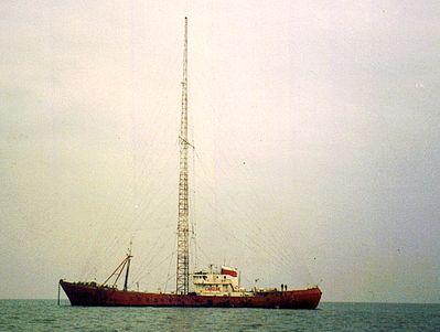 Radio Caroline krijgt permanente zendvergunning
