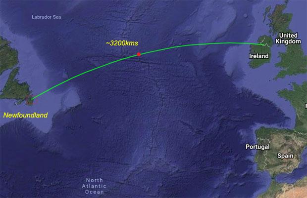 88MHz transatlantische signalen gehoord in Ierland