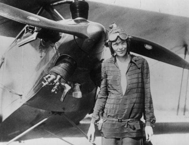 Tientallen mensen ontvingen noodoproep Amelia Earhart