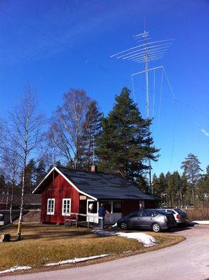 Storm vernielt antennes Morokuliën