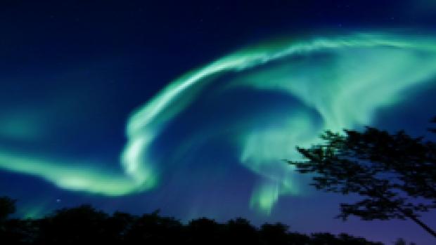 Aurora's maken geluid